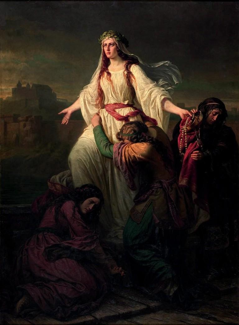 Death of Wanda (1859)