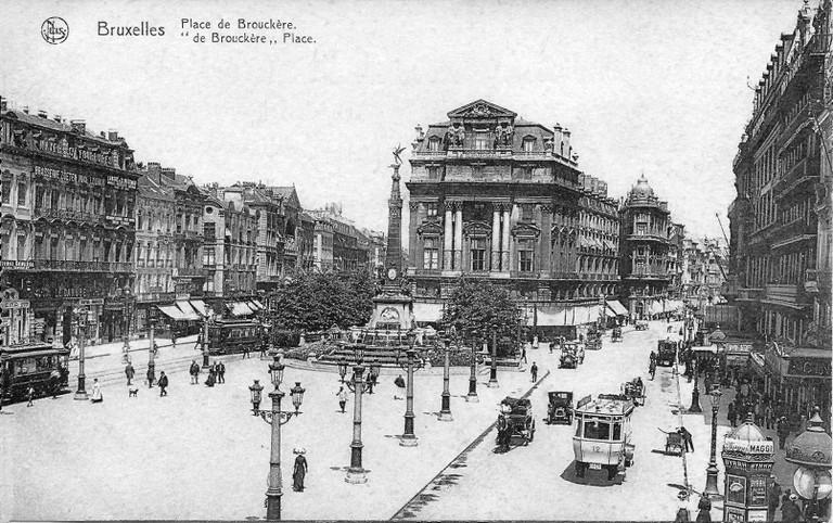 Place de Brouckère c.1913 | public domain / Wikimedia Commons