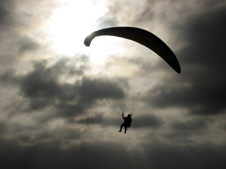 Take to the skies with paragliding