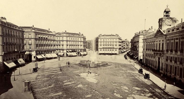 Puerta del Sol, 1870