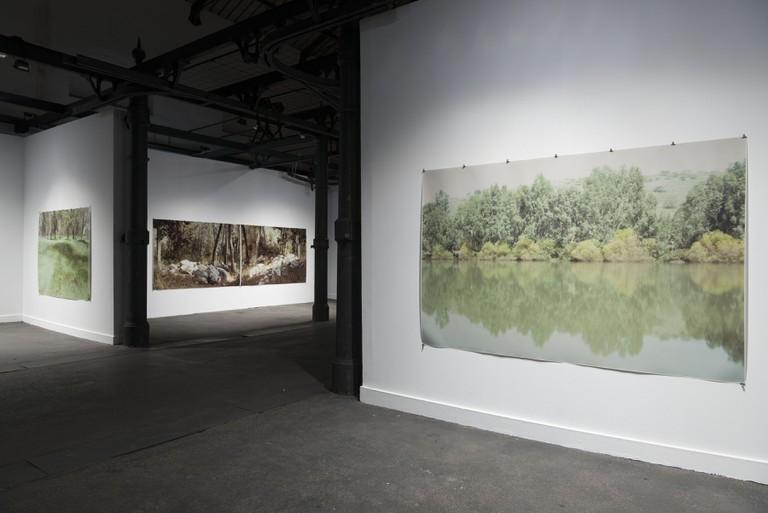 Installation view of exhibition The Night Illuminates The Night, MACRO Museum, 2017