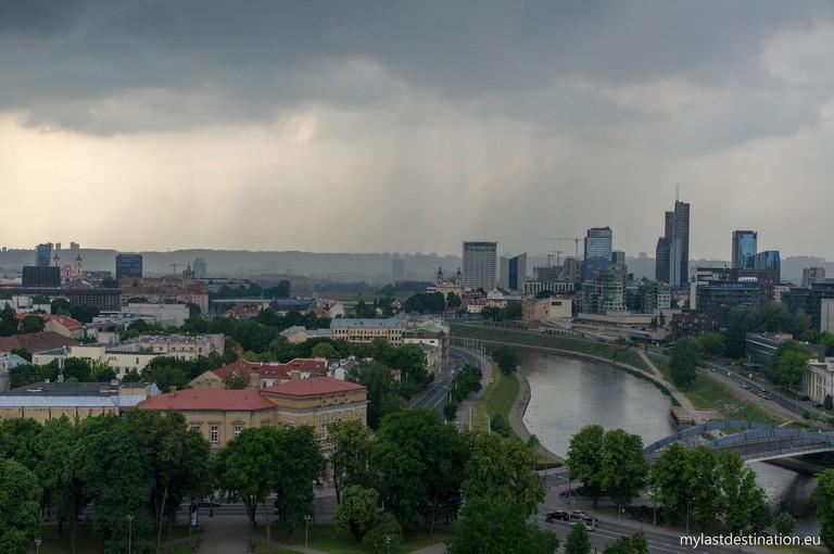 Rain in Vilnius