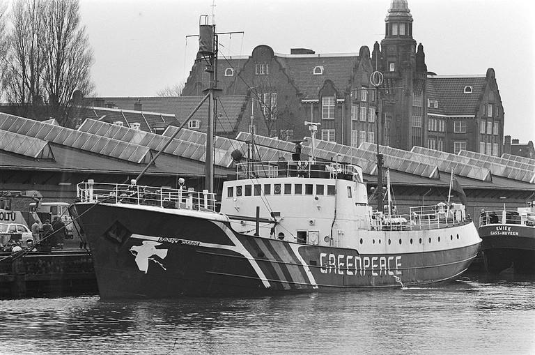 Greenpeace Rainbow Warrior in 1981