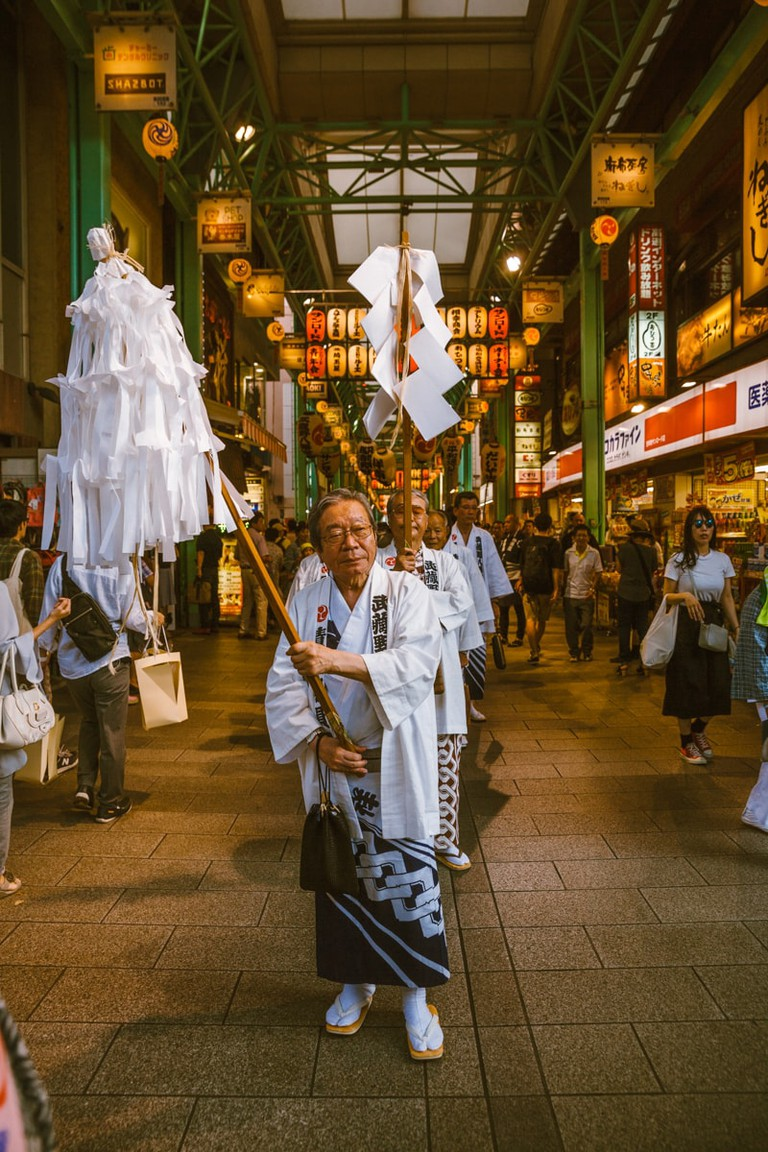 Parading through a local shopping centre | Mithila Jariwala / © Culture Trip