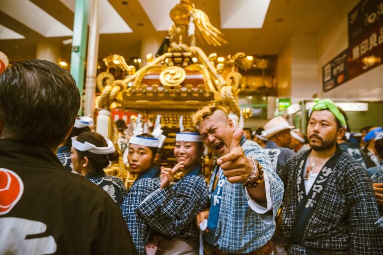 Smiles all around at Kichijoji Festival | Mithila Jariwala / © Culture Trip
