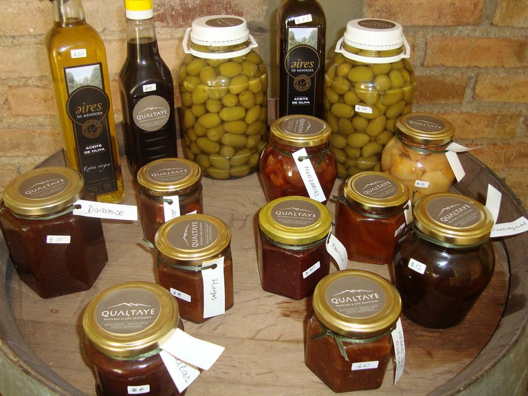 Yummy preserves to go with the delicious cheese at Qualtaye
