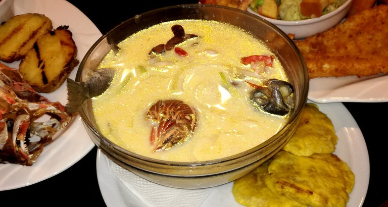 Rondón is a rich fish or seafood stew from Nicaragua's Atlantic coast