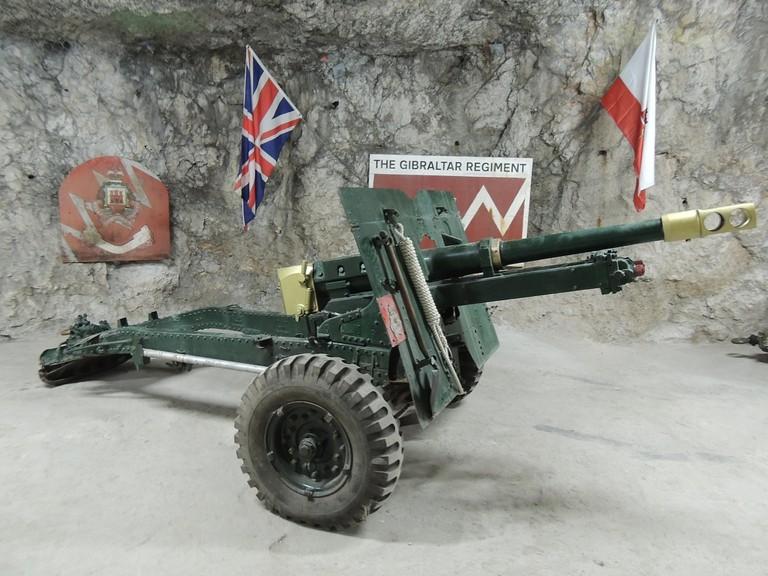 The WWII tunnels housed gun repair workshops; courtesy www.visitgibraltar.gi