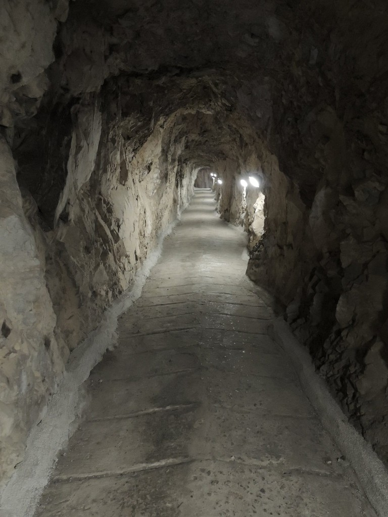 25 metres of tunnel was dug in just two weeks; courtesy www.visitgibraltar.gi
