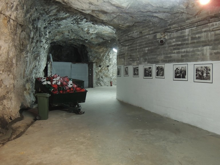 Gibraltar's Great Siege tunnels were greatly expanded during WWII; courtesy www.visitgibraltar.gi