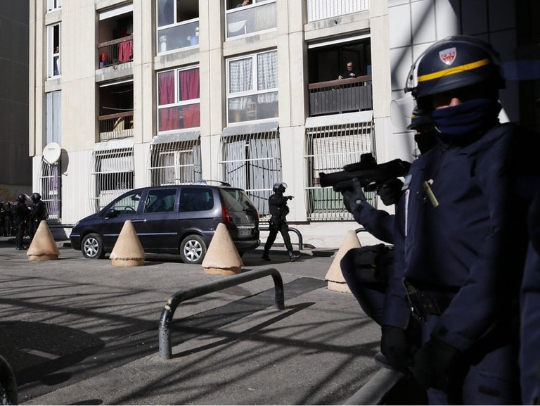 Marseille Police continue to battle drug organizations, like the Feb 2015 'La Castellane' Raid | © Arnold Jerocki/Epa/REX/Shutterstock