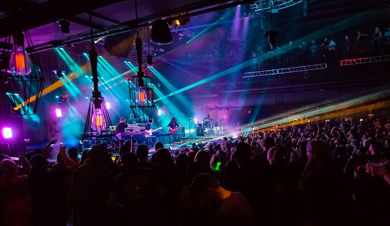 STS9 in concert at the Brooklyn Bowl | © MediaPunch/REX/Shutterstock