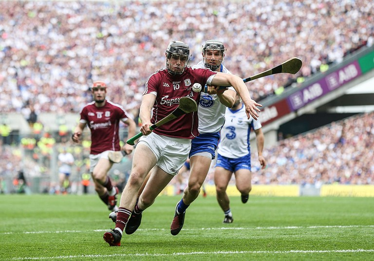 Galway vs Waterford in the Dublin Hurling Championship Final