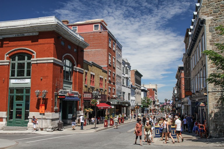 Rue Saint Jean, Quebec City