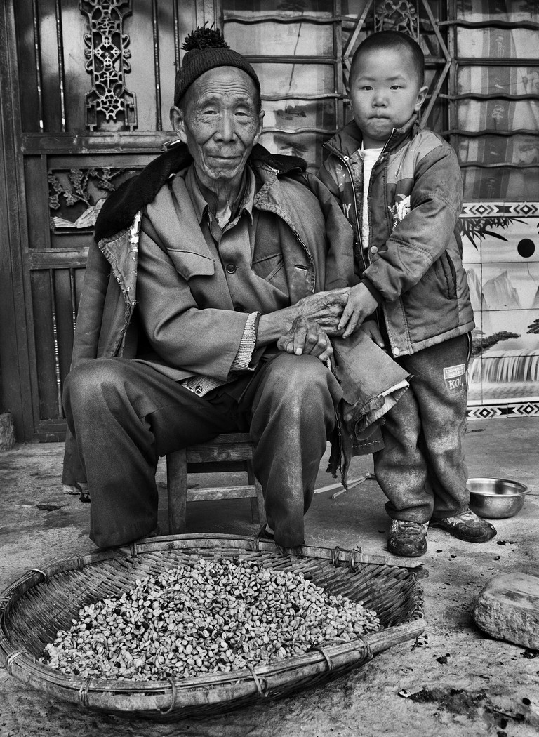 Mengnai village. Baoshan District, Yunnan province, China (2012)