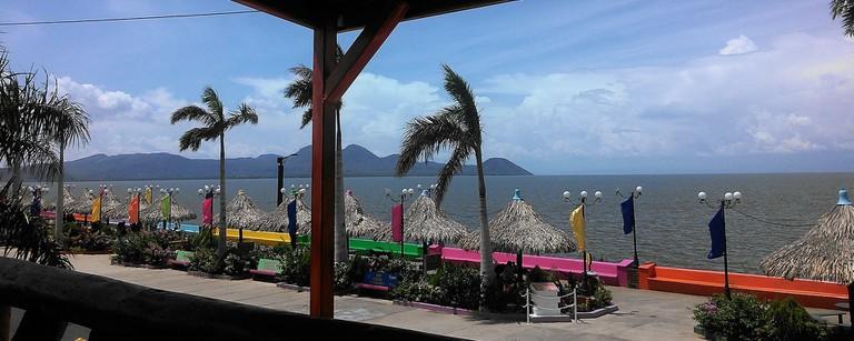Lake views from Puerto Salvador Allende