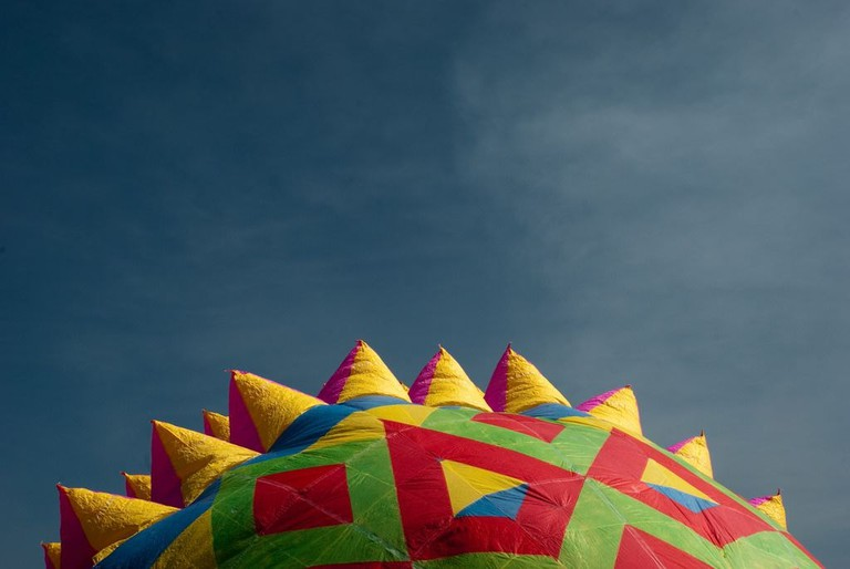 San Agustin Ohtenco balloon fair / flickr