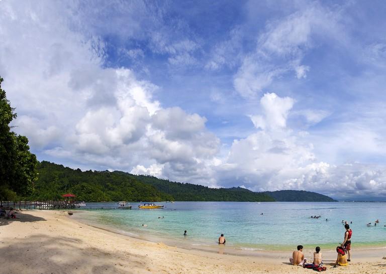 Sapi Island in Tunku Abdul Rahman National Park