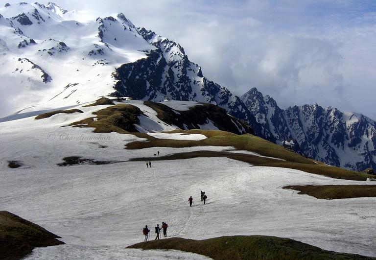 Sar pass trek from Kasol