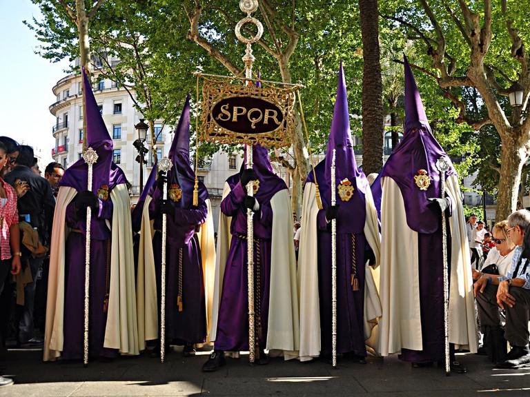 Semana Santa in Seville, Spain | ©Luisfpizarro / Pixabay