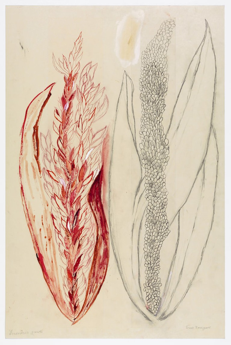 Louise Bourgeois (1911–2010). Eccentric Growth I. 2006. Collection Louise Bourgeois Trust and Osiris, New York. © 2017 The Easton Foundation/Licensed by VAGA, NY.