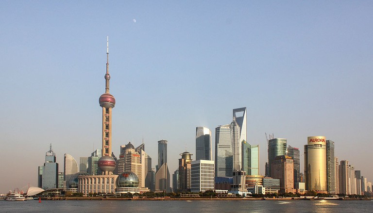 Pudong, Shanghai skyline
