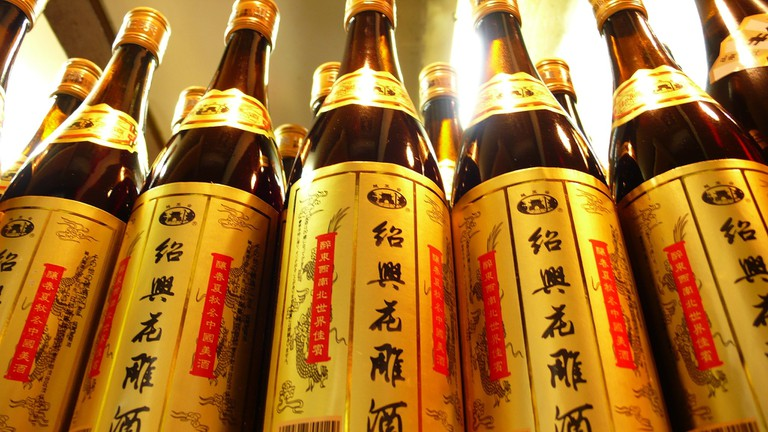 Shaoxing Rice Wine – one of the most famous brands of Yellow Liquor