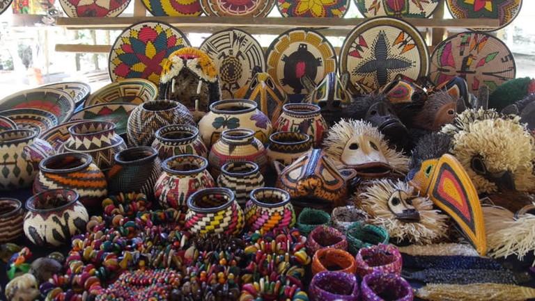 Emberá crafts