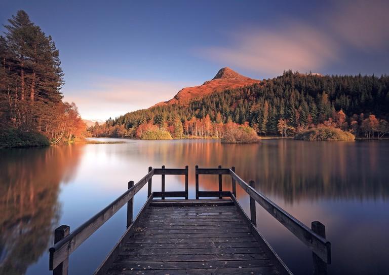 Glencoe Lochan In Autumn