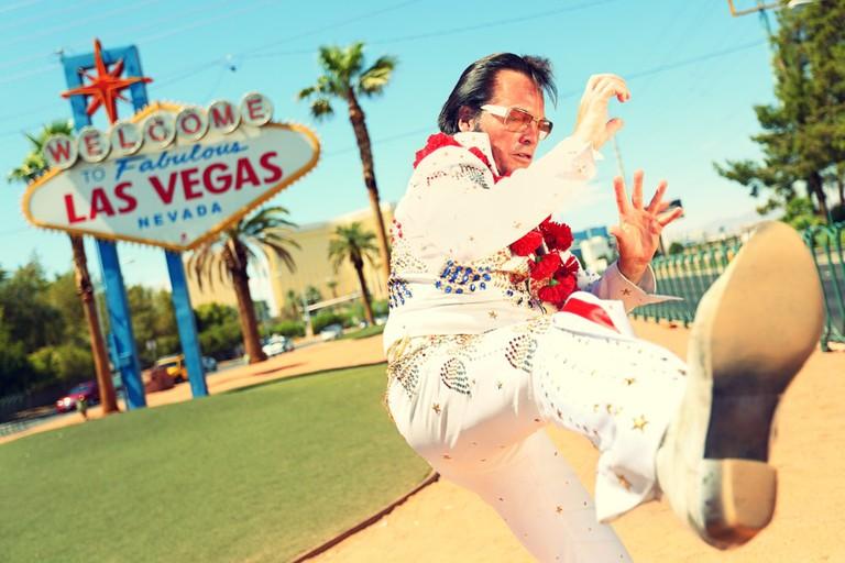 Kung-Fu Elvis in Vegas | © maridav/Shutterstock