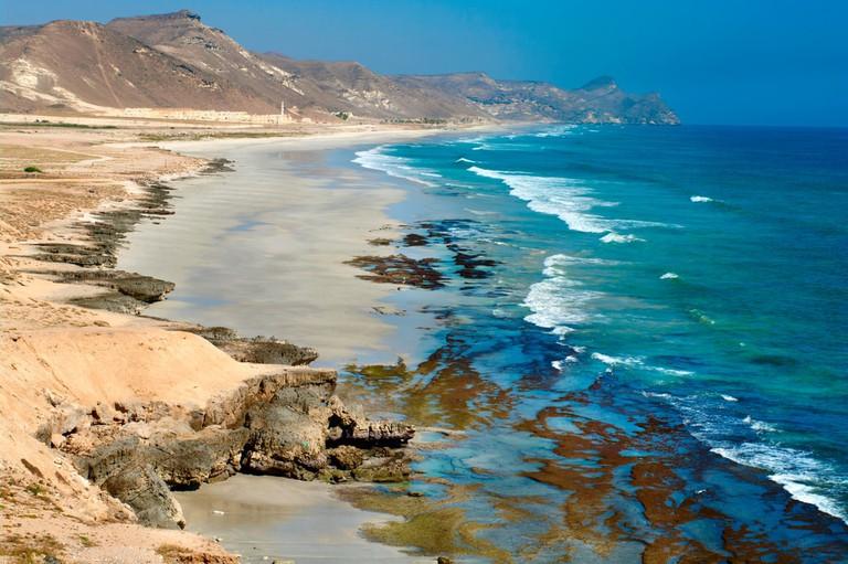 Beach at Al Mughsayl, Salalah, Oman | © Byelikova Oksana/Shutterstock
