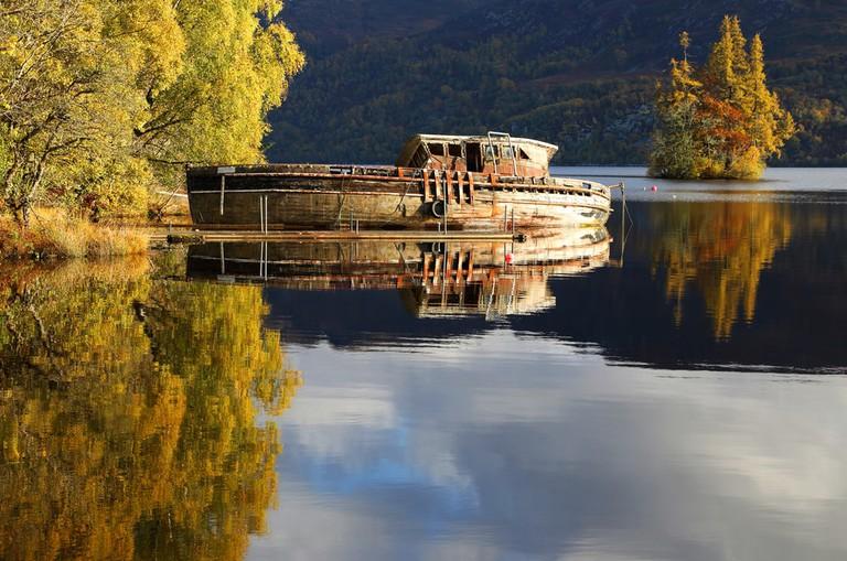 Scottish Shipwreck, Loch Ness