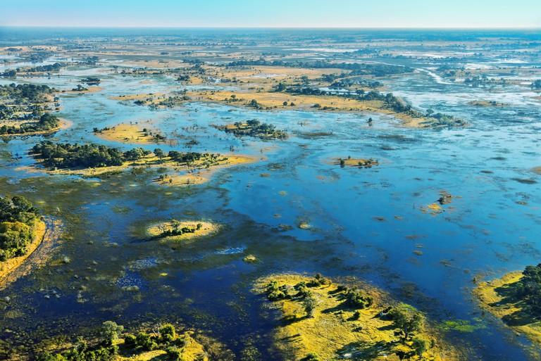 View over the Okavango Delta, Botswana | © Vadim Petrakov/Shutterstock