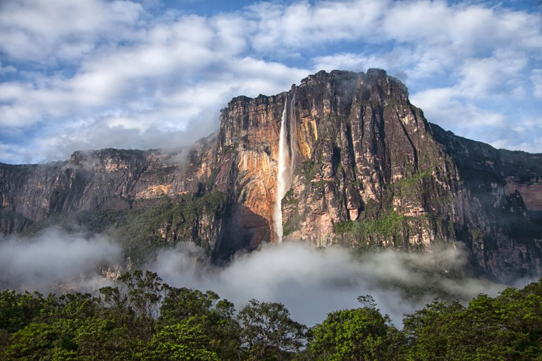 The mighty Angel Falls in Venezuela