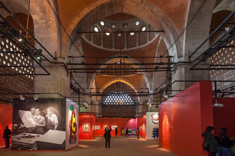 Joan Miro exhibition at Tophane-i Amire   © Koraysa/Shutterstock