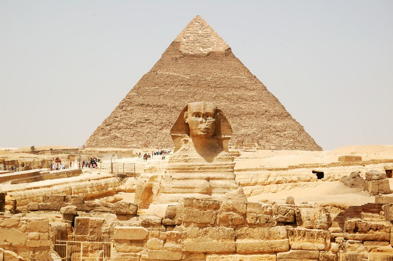 The Sphinx and a pyramid of Giza | © Nort/Shutterstock