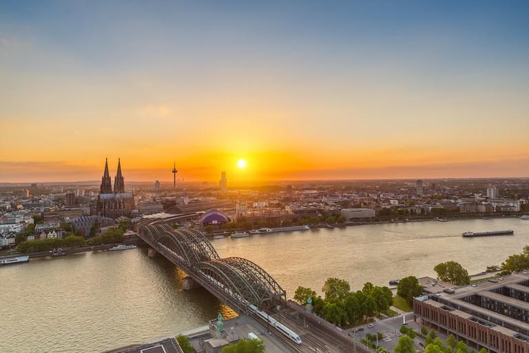 Views from Köln Triangle
