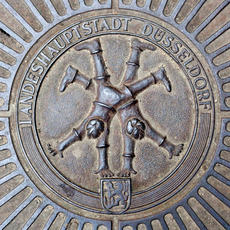 Emblem of famous Dusseldorf cartwheelers | © Kaesler Media/Shutterstock