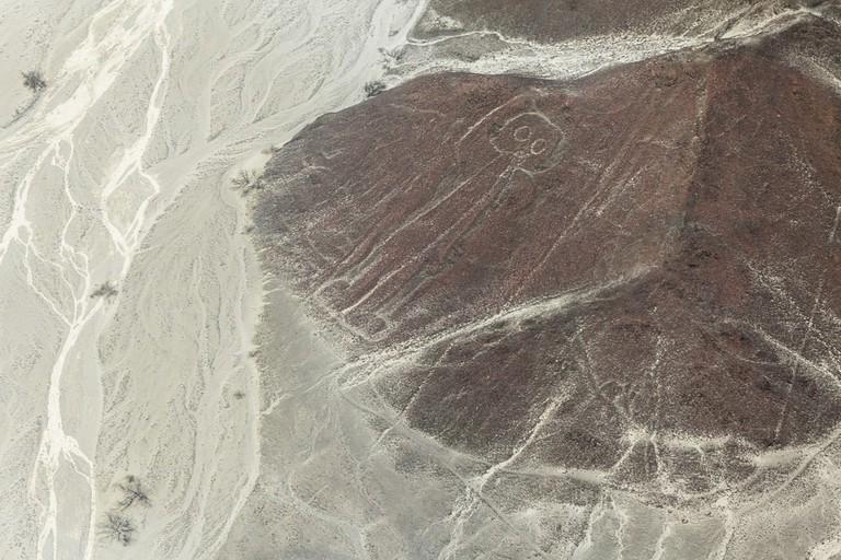 Nazca line of 'The Astronaut' | © Stefano Buttafoco