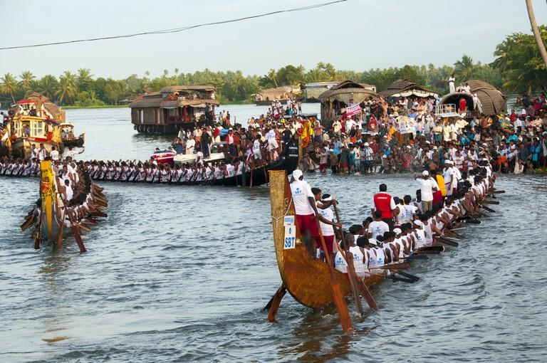 In Aranmula, the boats are called palliyodam – Lord Krishna's yacht