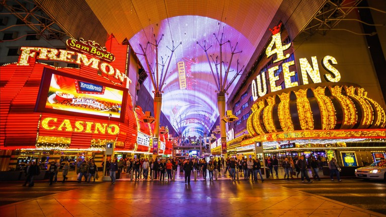 Fremont Street, Las Vegas | © kan_khampanya/Shutterstock