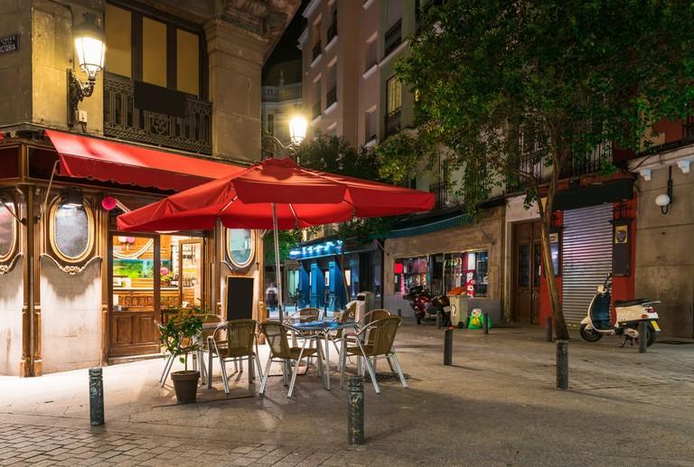 Madrid terrace