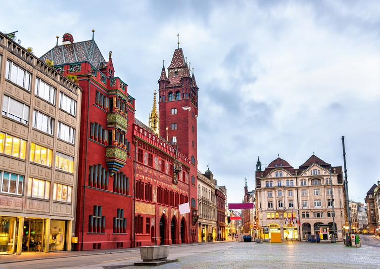 Rathaus, the Town Hall of Basel, Switzerland | © Leonid Andronov/Shutterstock