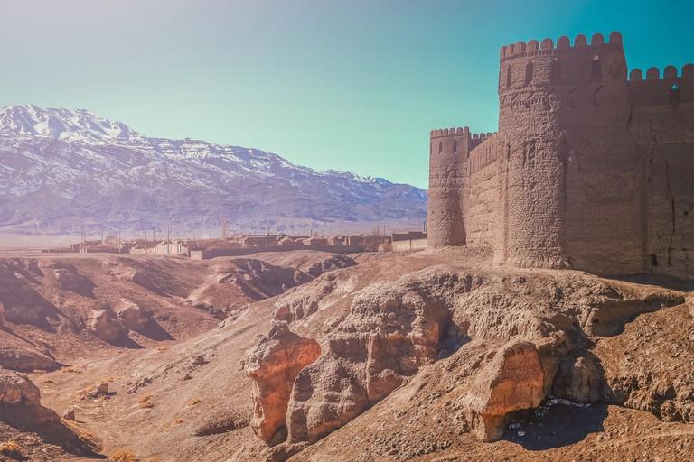 Thick walls of Rayen Castle, near Bam, Iran | © aaabbbccc/Shutterstock