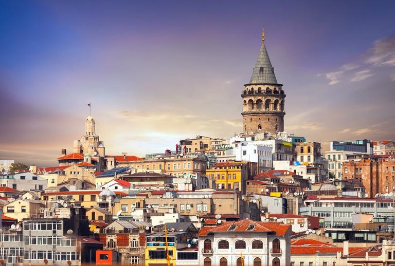 Galata Tower in Istanbul   © Kosmenkod/Shutterstock
