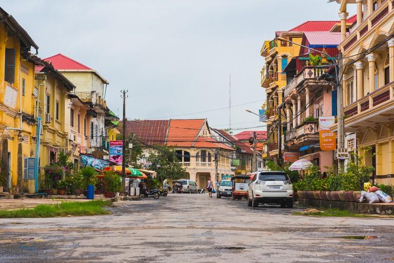 Kampot town © David Bokuchava / Shutterstock.com