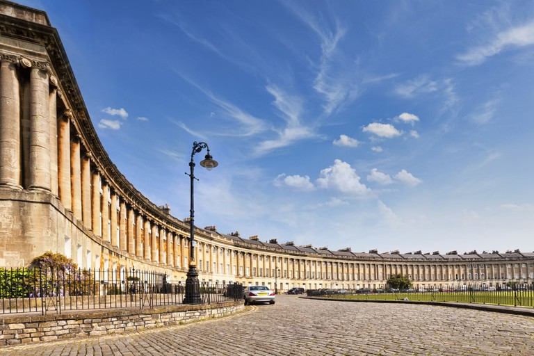 Royal Crescent, Bath | © travellight/Shutterstock