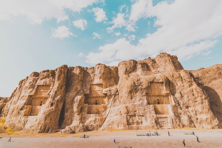 Ancient big tombs of Achaemenid kings at Naqsh-e Rustam, Iran | © Burak Budak/Shutterstock