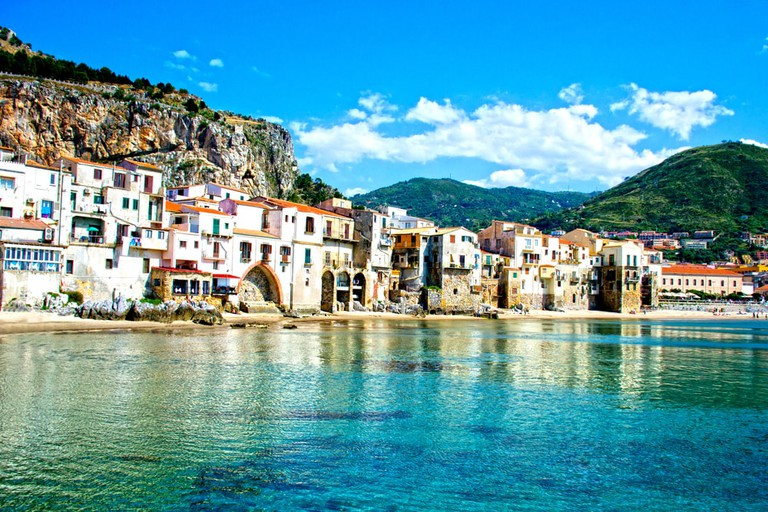 Beautiful coast of Cefalu, Palermo - Sicily | © ciccino77/Shutterstock