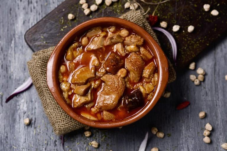 Callos, or tripe, is a popular Madrid dish